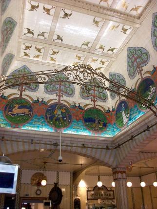 Food Hall Ceiling
