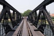 View across the bridge
