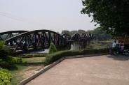 The original bridge spans