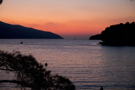 Sunset over Stari Grad Hvar