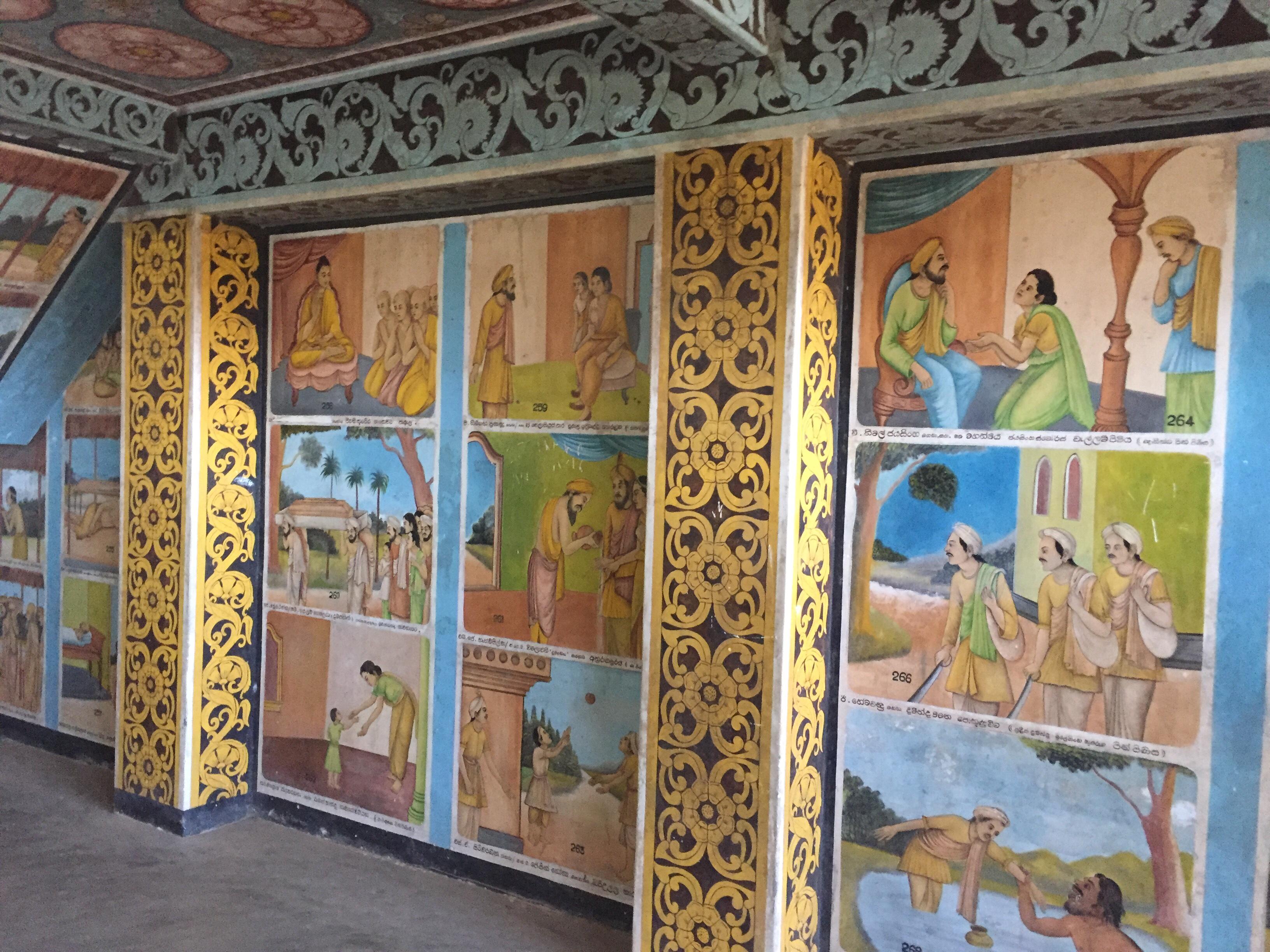 Jataka paintings